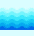 abstract background blue sea waves vector image