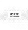 abstract white geometry hipster white background v vector image