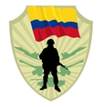 Army of Colombia vector image vector image