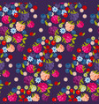 assorted forest berries seamless pattern vector image vector image