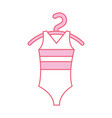 ballet leotard for ballet class icon in cartoon vector image