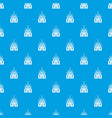 church building pattern seamless blue vector image vector image