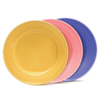Clean plates vector image vector image