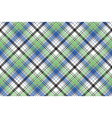 diagonal check plaid texture seamless pattern vector image vector image