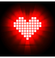 Heart energy health concept vector image
