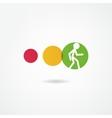 movement icon vector image