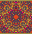 seamless pattern mandala design ethnic decorative vector image