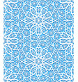 seamless pattern with traditional ornament vector image vector image