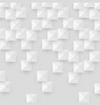 white abstract texture with geometric shape vector image vector image