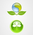 set of environment logo icon design vector image