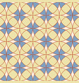 Abstract geometric seamless print pattern