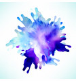 abstract splash background design vector image vector image