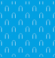 arch pattern seamless blue vector image vector image