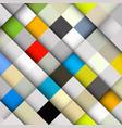 diagonal colorful squares abstract backdrop vector image vector image