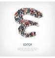 editor people shape vector image