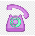 phone icon flat style vector image vector image