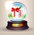 Snow Globe Design vector image vector image