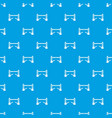 tower bridge pattern seamless blue vector image vector image