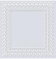 Operwork frame vector image