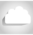 3D Cloud vector image