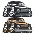 Cartoon Muscle Car vector image vector image
