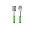 Cooking utencils vector image vector image