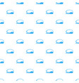 high sea wave icon simple style vector image vector image