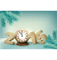 Holiday background with a 2015 vector image vector image