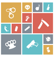 icons tile miscellaneous vector image vector image