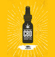 Organic cbd oil hemp health care design