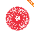 Stamp sticker Quality tag collection - - EP vector image vector image