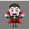 Vampire or Dracula vector image vector image