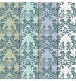 Vintage Royal Classic pattern set vector image vector image