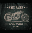 motorcycle graphic banner vector image