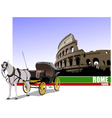 6229 rome trip vector image vector image