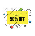 colorful sale badges design templates vector image