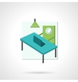 Coworking flat icon vector image vector image