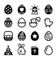 easter icon vector image vector image