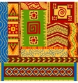 Ethnic patterns vector image vector image
