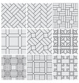 floor material tiles seamless patterns vector image vector image