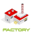 isometric modern industrial and vector image vector image