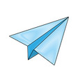 paperplane icon image vector image vector image