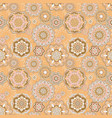 pattern with oriental decor vector image vector image