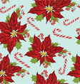 Seamless christmas pattern vector image