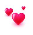 valentines day celebration concept love banner vector image