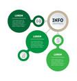 web template a sales pipeline or diagram vector image vector image