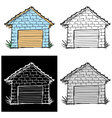garage vector image vector image