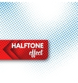 Halftone background vector image vector image