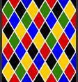 harlequin seamless pattern vector image vector image
