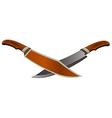 knife1 1 v vector image vector image